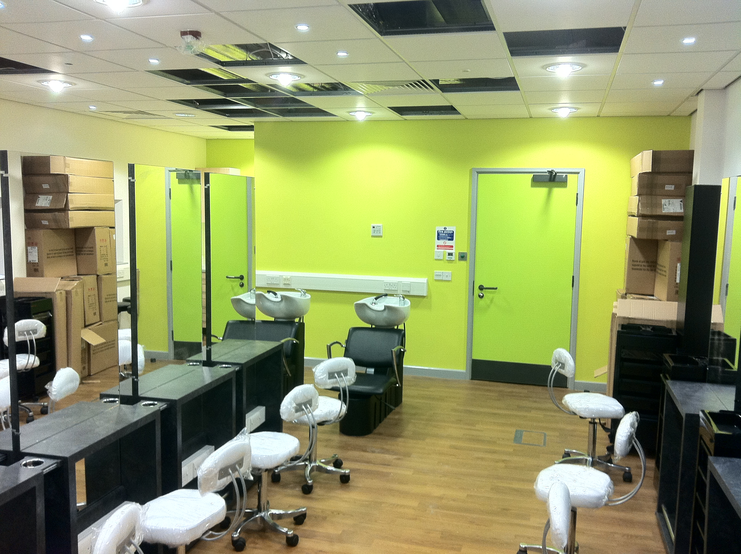 Darlington college harrow consulting chartered building for A beautiful you salon