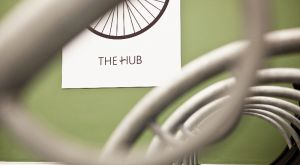 The Hub - New cycle storage area